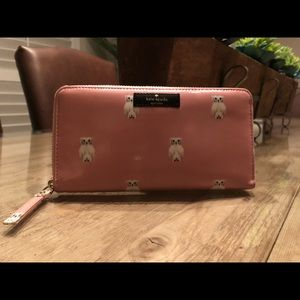 Kate Spade Pink Daycation Neda Painterly Wallet